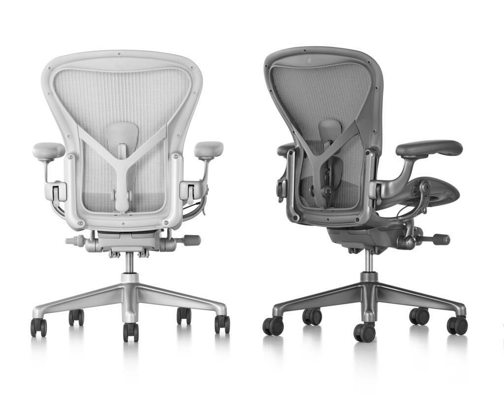 La mejor silla de oficina permite transpirar y que el aire circule.