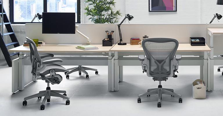 La silla Aeron de Herman Miller marcó un antes y un después en el mobiliario de oficina