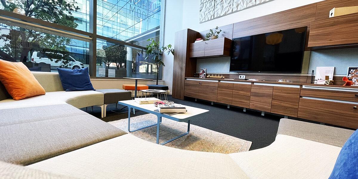 Distrito HM Showroom lobby