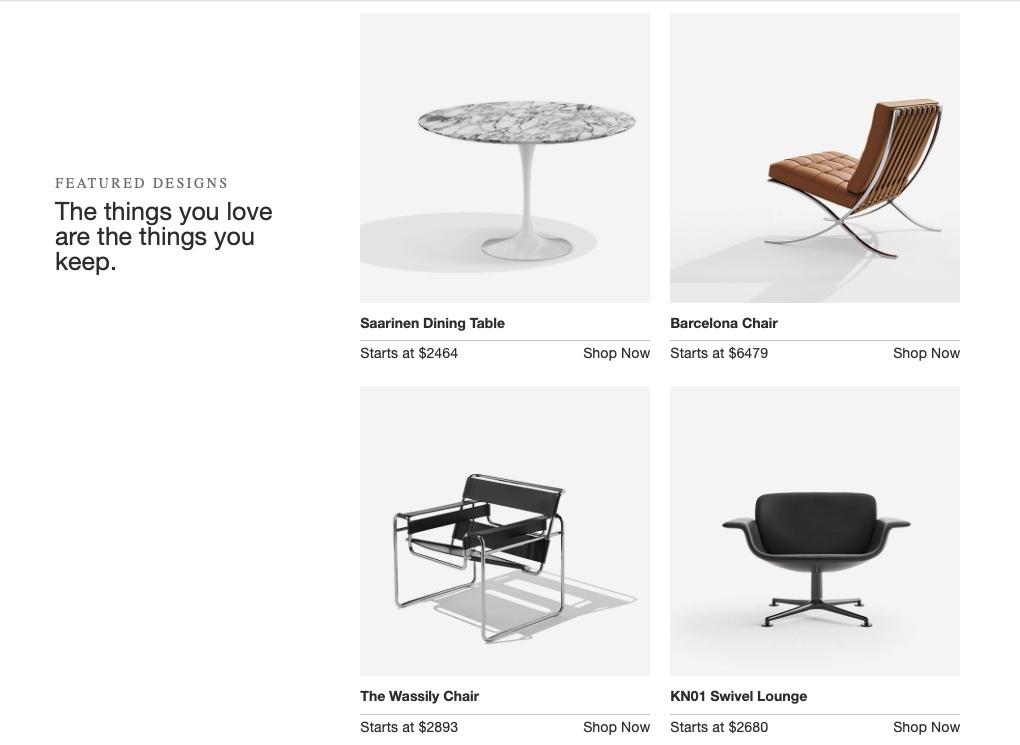 Knoll es la última gran firma de diseño en incorporar su mobiliario de oficina a la familia Herman Miller