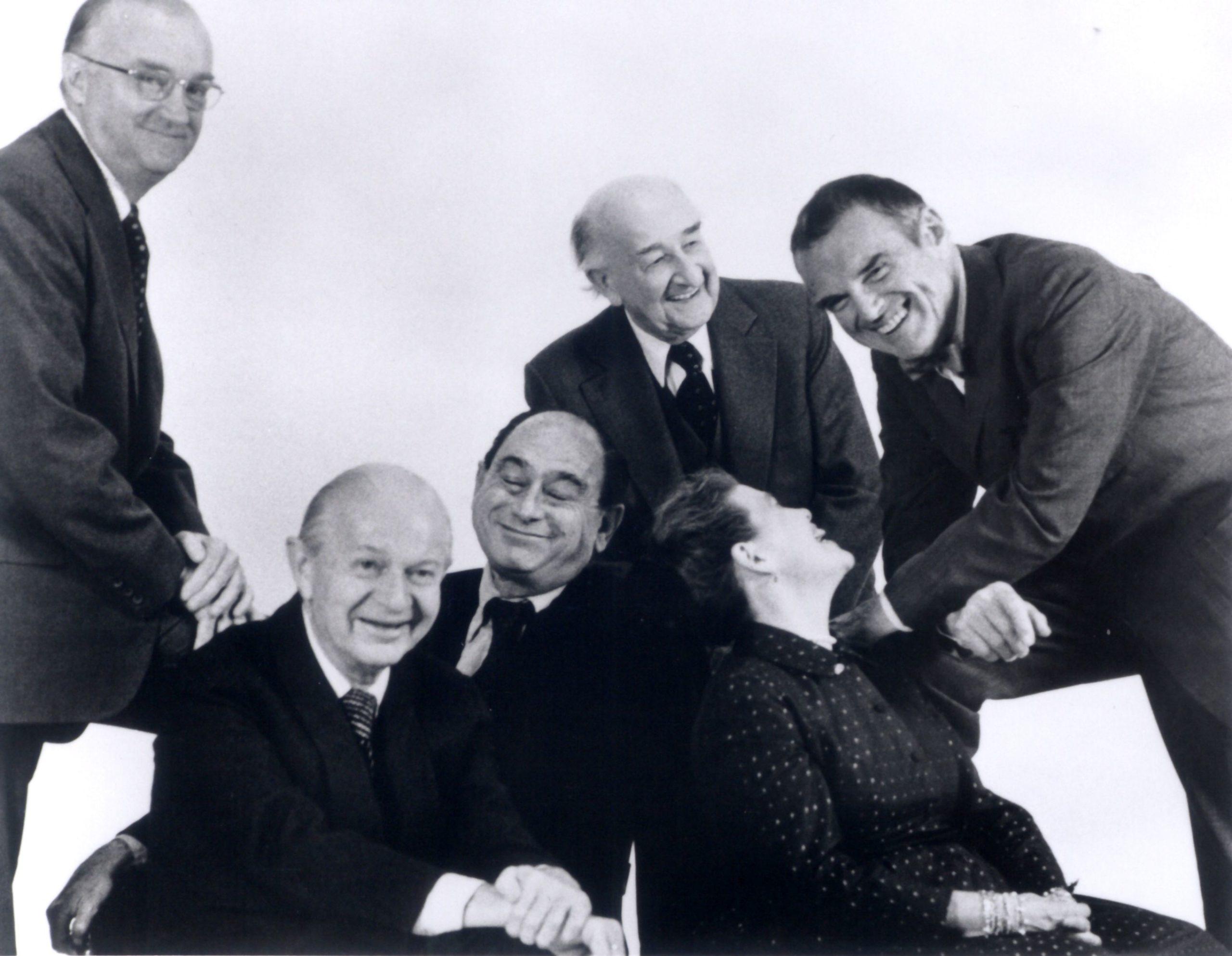 Robert Probst, Alexander Girard, George Nelson, DJ De Pree, Charles y Ray Eames.