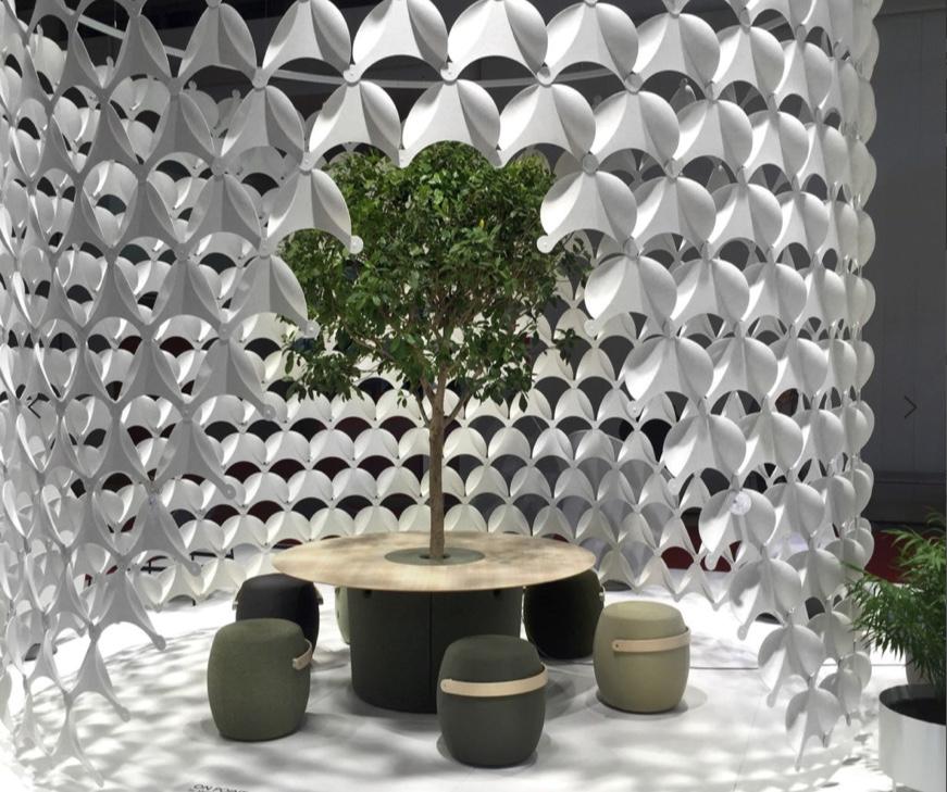 Se pueden aislar diversas zonas para mejorar a través del diseño el aspecto y las condiciones de trabajo